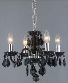 Rococo 4 Light  Chandelier