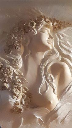 Pottery Sculpture, Sculpture Clay, Art Sculptures, Plaster Art, Mermaid Art, Art Portfolio, Mandala Art, Female Art, Wood Art