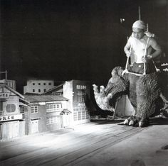 Tournage de Godzilla.