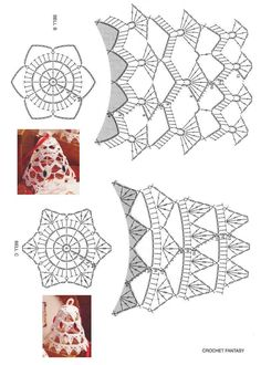 Best 10 Tried the middle one with standard-sized crochet thread. Turned out horribly, and was extremely large and crowded. I think the – Page 343258802834501832 – SkillOfKing. Crochet Christmas Decorations, Crochet Decoration, Crochet Ornaments, Crochet Snowflakes, Christmas Crafts, Basic Crochet Stitches, Crochet Diagram, Crochet Chart, Thread Crochet