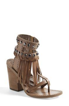 Women's Ivy Kirzhner 'Hildagard' Fringe Ankle Cuff Sandal