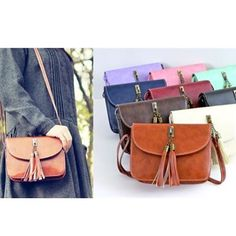 At only $8.99 you can get one in every color!! Loving cross body bags right now!! So perfect when you need your hands free, especially for traveling!!