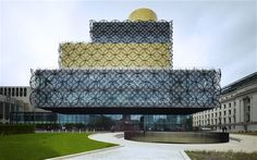 The new Library of Birmingham is the city's fourth central library.