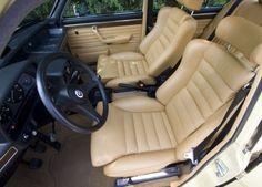 1977 BMW E12 530i Euro Sedan Interior