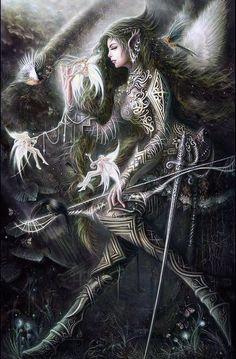 Anjana del bosque: Hadas malevolas