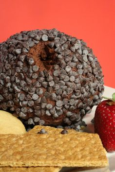 Bust out a chocolate cheese ball for your next holiday party!