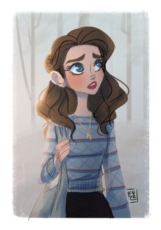 Nancy Wheeler from Stranger Things (by fydraws)