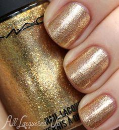 MAC Magnificent Feast nail polish Indulge MAC Holiday 2013 Nail Polish Including MAC RiRi Woo
