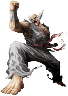 Heihachi from Street Fighter X Tekken