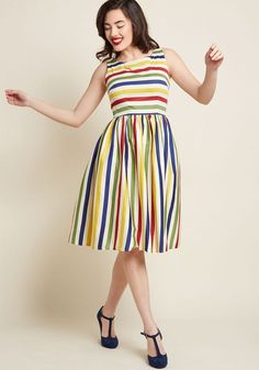 6396a666ce630 Collectif x MC Whimsical by Weekend Fit and Flare Dress