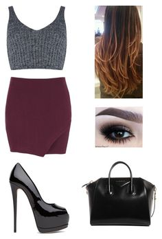 """""""Untitled #406"""" by oned-polyvore ❤ liked on Polyvore featuring mode, J.O.A. et Givenchy"""