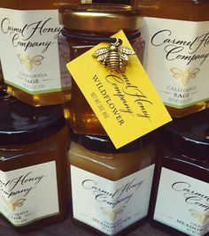 "Carmel Honey Company grew out of a passion for #bees and good grades as a student real world homework assignment in 5th grade. Jake not only got an A on the project but created a business! ""Jake Gives Back"" - a non-profit - supports #honey and #bee research with a monetary donation every year based on the company proceeds seeking out organizations who are expanding research and education efforts by addressing the production nutritional value health benefits economics and/or quality standards…"