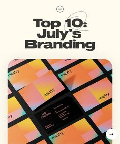 Today's Top 10 curation is brought for you by Future London Academy: Halfway through summer, we're enjoying long days under the shining sun and spending somehow more time with our loving ones. As we've been doing so, this week's Top 10 Series features a compilation of branding projects. We're presenting Top 10: July's Branding Selection 🙂 Once again, we are displaying a carefully curated selection of branding projects that caught our attention.