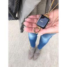 Bucardo (@bucardostyle) • horseshoe charm necklace Apple Watch accessory