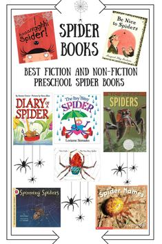 Spider Books For the