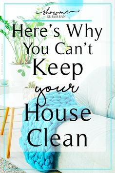 Feel like you can't keep your house clean? It's probably because you're holding your house, kids, and life to someone else's standard of being clean and organized. Learn to set your own standards and get tips to finally keep your house clean! Bathroom Cleaning Hacks, Diy Cleaning Products, Cleaning Checklist, Cleaning Tips, Cleaning Schedules, Speed Cleaning, Home Management Binder, Homekeeping, Clean House
