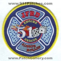 Jacksonville Fire and Rescue Department Station 51 Patch Florida FL
