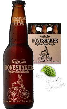 Boneshaker IPA, Amsterdam Brewery