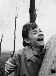 "gabbigolightly: "" Audrey Hepburn, 1956 by Michael Ochs """