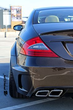 PRIOR-DESIGN PD Black Edition Widebody Aerodynamic-Kit for Mercedes CLS [W219] - PRIOR-DESIGN Exclusive Tuning