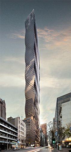 Tower Melbourne, 150 Queen Street, by Elenberg Fraser :: 69 floors, height 226m