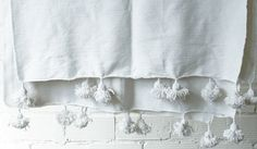 Cotton Moroccan Bed Cover / Throw Blanket