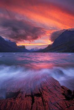 St. Mary Lake, Glacier National Park (Montana) by Mat Malone