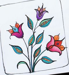Art Journal - Floral Doodle 4 | by Pink Palindrome