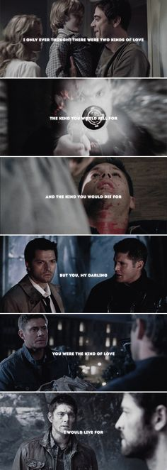 the kind to live for #spn #destiel
