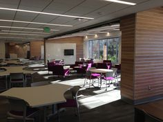 Furniture has been set up in the 'Learning Commons' within the renovated Arts & Sciences Building!