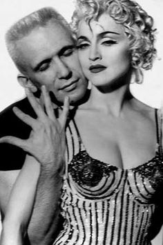Madonna and Jean Paul Gaultier by Herb Ritts