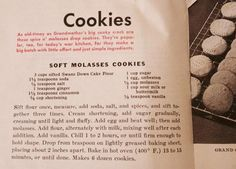 11 Awesome Pages from World War II Ration Cookbooks Cookie recipe for more… Retro Recipes, Old Recipes, Vintage Recipes, Cookbook Recipes, Baking Recipes, Homemade Cookbook, Recipies, Cookbook Ideas, Easy Recipes