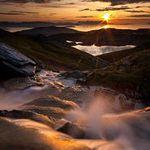 Midnight Glory...  © Arild Heitmann  Shot at midnight. The midnightsun provides amazing light in the mountains...