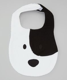 Take a look at this Baby Champagne White Pup Bib on zulily today! Baby Sewing Projects, Sewing For Kids, Diy For Kids, Sewing Crafts, Burp Rags, Burp Cloths, Baby Hut, Dog Baby, Baby Gifts To Make