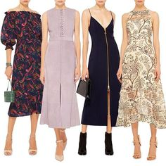 WEBSTA @ modaoperandi - Stuck in the #midi with you! Click link in bio to #shop our favorite silhouette in this week's #NewArrivals