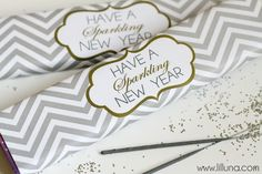 Beautiful Free New Years Eve Party Printables New Years Eve Day, New Years Party, New Year's Eve Crafts, Nye Party, Party Time, Holiday Fun, Holiday Ideas, Christmas Ideas, Festive