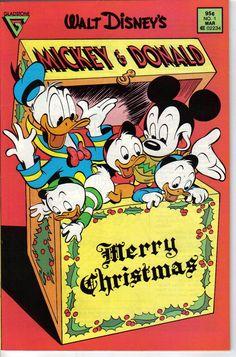 Walt Disney's Mickey & Donald Merry Christmas Comic Book