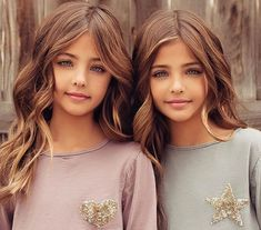 People Are Asking If Twins Dubbed 'Most Beautiful Girls' Were Forced Into Modeling Beautiful Little Girls, Beautiful Children, Beautiful Eyes, Beautiful Family, Little Girl Models, Child Models, Cute Twins, Cute Baby Girl, Twin Girls