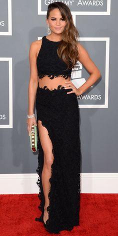 Model Chrissy Teigen would be a good example of a slim endomorph.