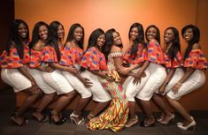 TOTEM Network: Things mature women don't do Glamorous Bridesmaids Dresses, African Bridesmaid Dresses, African Wedding Dress, African Attire, African Wear, African Women, African Dress, African Theme, African Print Fashion