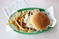 Diner food #burger #chips #SouthsideDINER