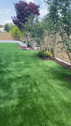 With this walk-through you can see how well artificial grass imitates the look of natural grass. It's dense and long, creating shadow and reflecting light to create that authentic appearance.