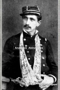 Anastasio A. Abinagoitis, Subdito español nacido en Vizcaya, el 13 de mayo de 1879 se integra como subteniente de la 3° compañía del Batallón Atacama. Participa en Pisagua, Dolores, Los Ángeles, Chorrillos y Miraflores. Asciende a Teniente el 9 de julio de 1883.
