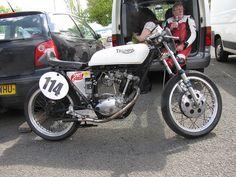 1967 Triumph Cub | ... Phil Bootherstone 1967 199cc Triumph Tiger Cub Thundersprint 20120513