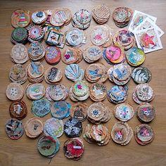 the round up! Tea Bag Art, Project 365, Make Art, Mixed Media, Abstract Art, Collage, Scrapbooking, Joy, Creative