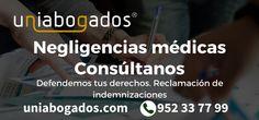 Abogado para negligencias médicas en Málaga.