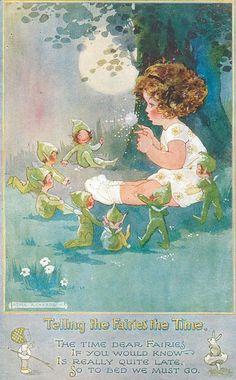 Agnes Richardson (1885-1951) est une artiste anglaise connue pour ses affiches et cartes postales. Ses personnages enfantins, très reconnaissables, ont