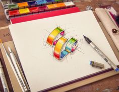 Logotypes collection   2012-2013 by Mike , via Behance