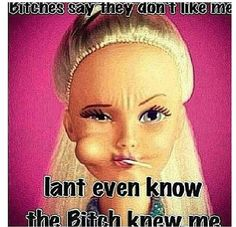 You don't know me!!