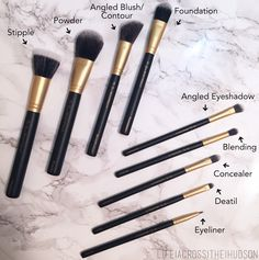 Amazing Affordable Makeup Brushes   Inexpensive Makeup Brushes   High Quality Makeup Brushes   Be You, Beautifully   via LifeAcrossTheHudson.com